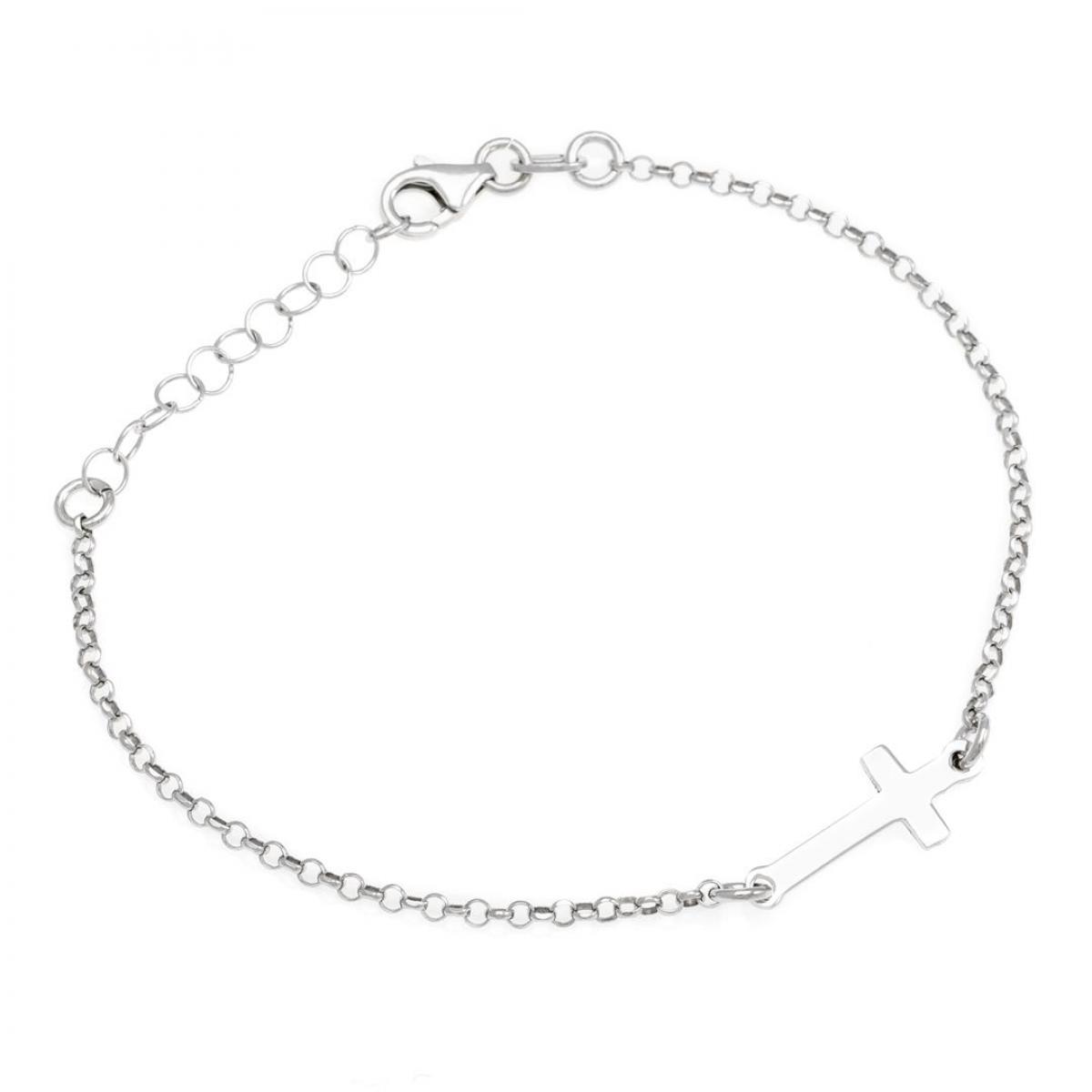 Браслет срібний з хрестиком B1604177F1264