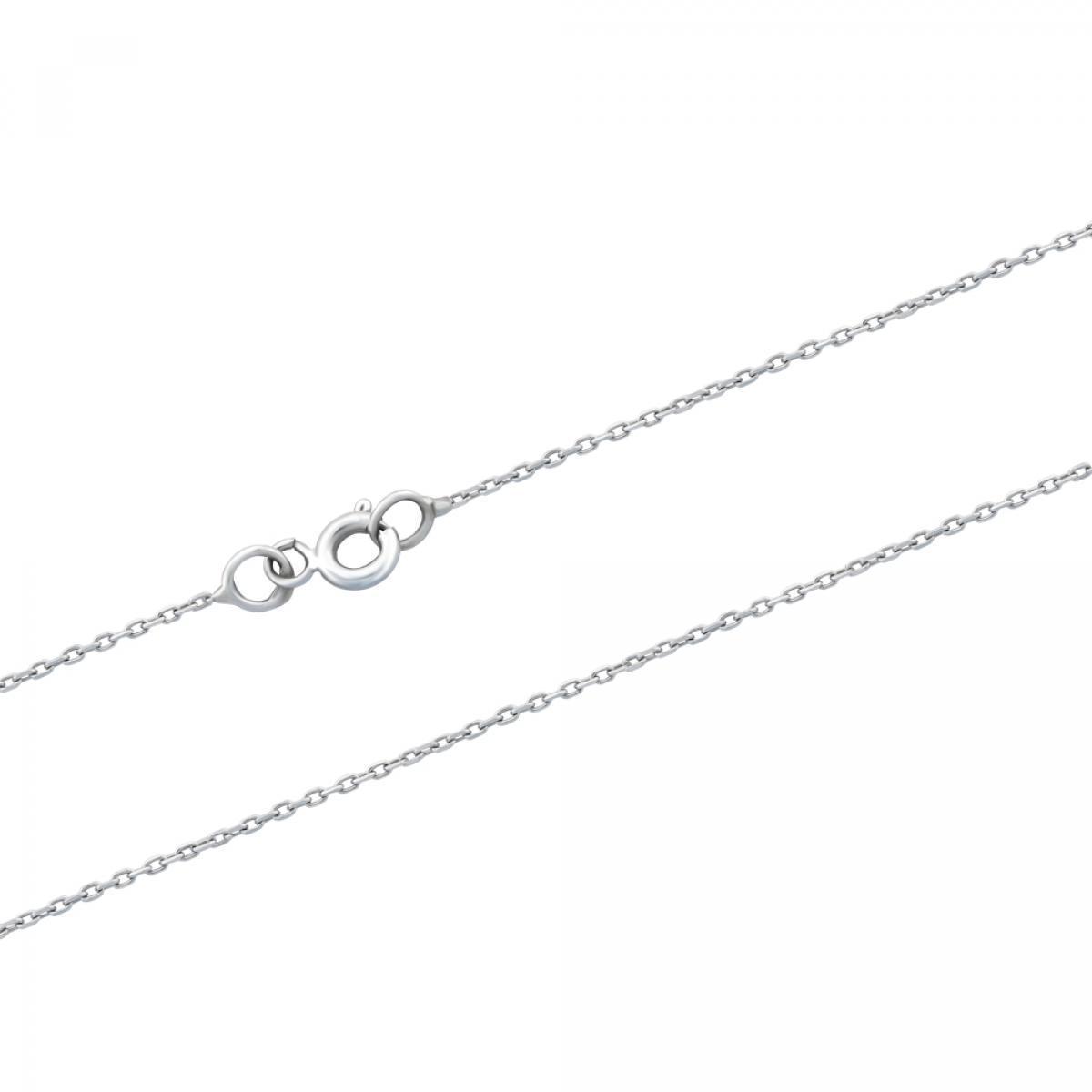 Ланцюжок з білого золота плетіння якір CABD-25X1(W) (45)