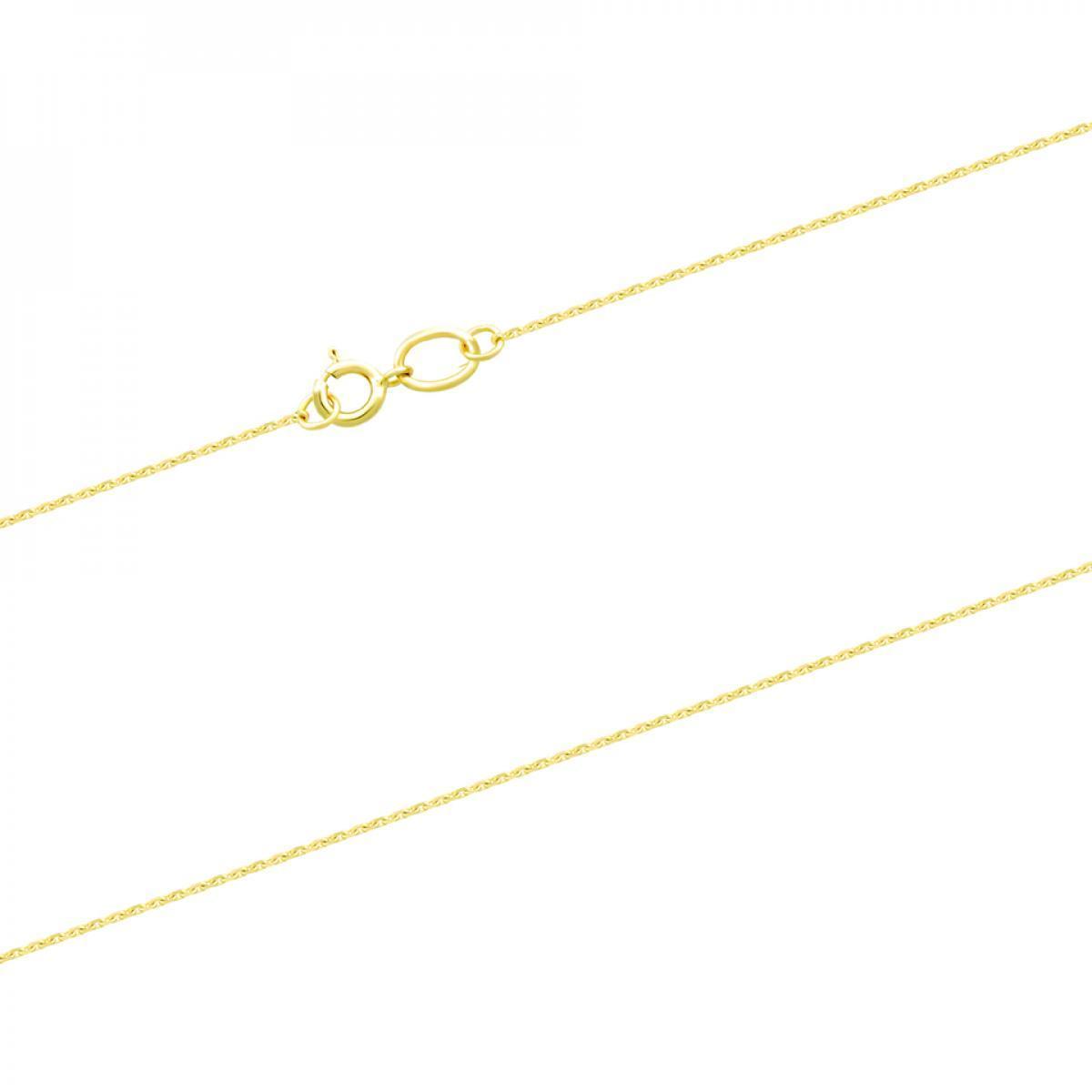 Ланцюжок з лимонного золота плетіння якір CABD-30X3 (40)