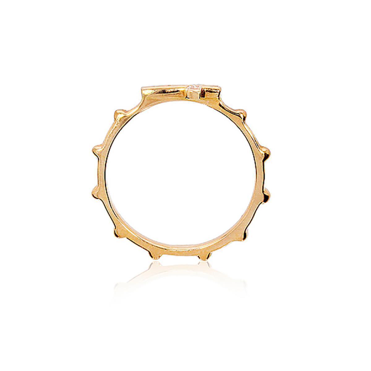 Золотий перстень-вервиця  (18)