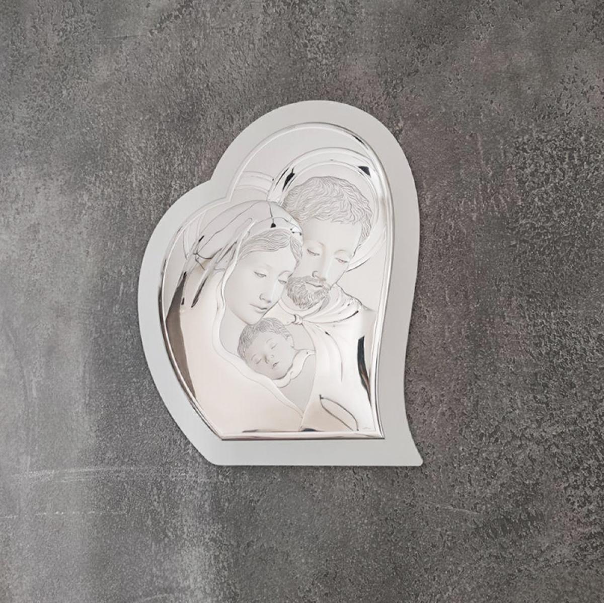 Ікона срібна Denarius ``Свята Сім`я`` (33х39 см) 81330 5LBI