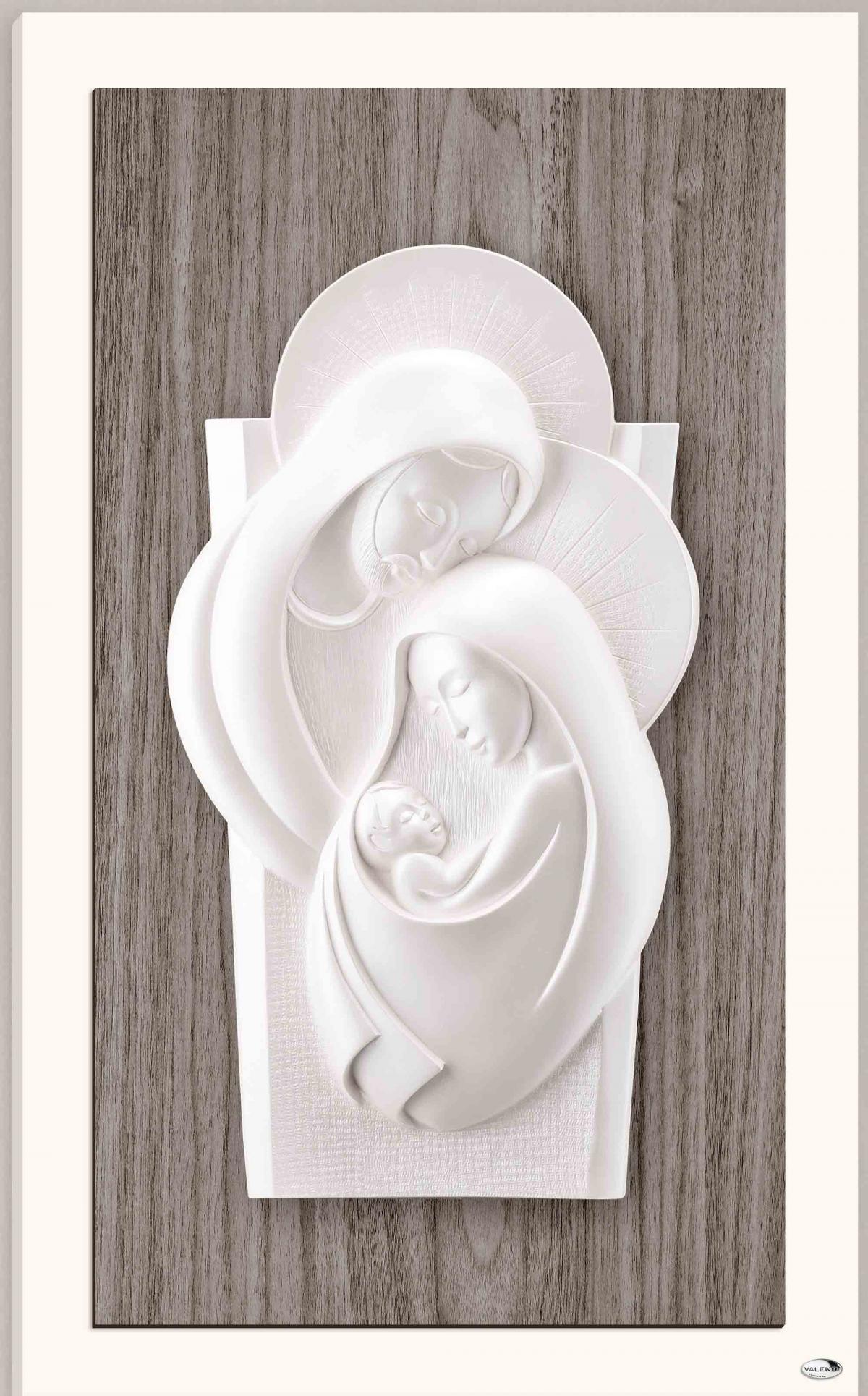 Ікона керамічна Свята Родина 13х19см L250 1