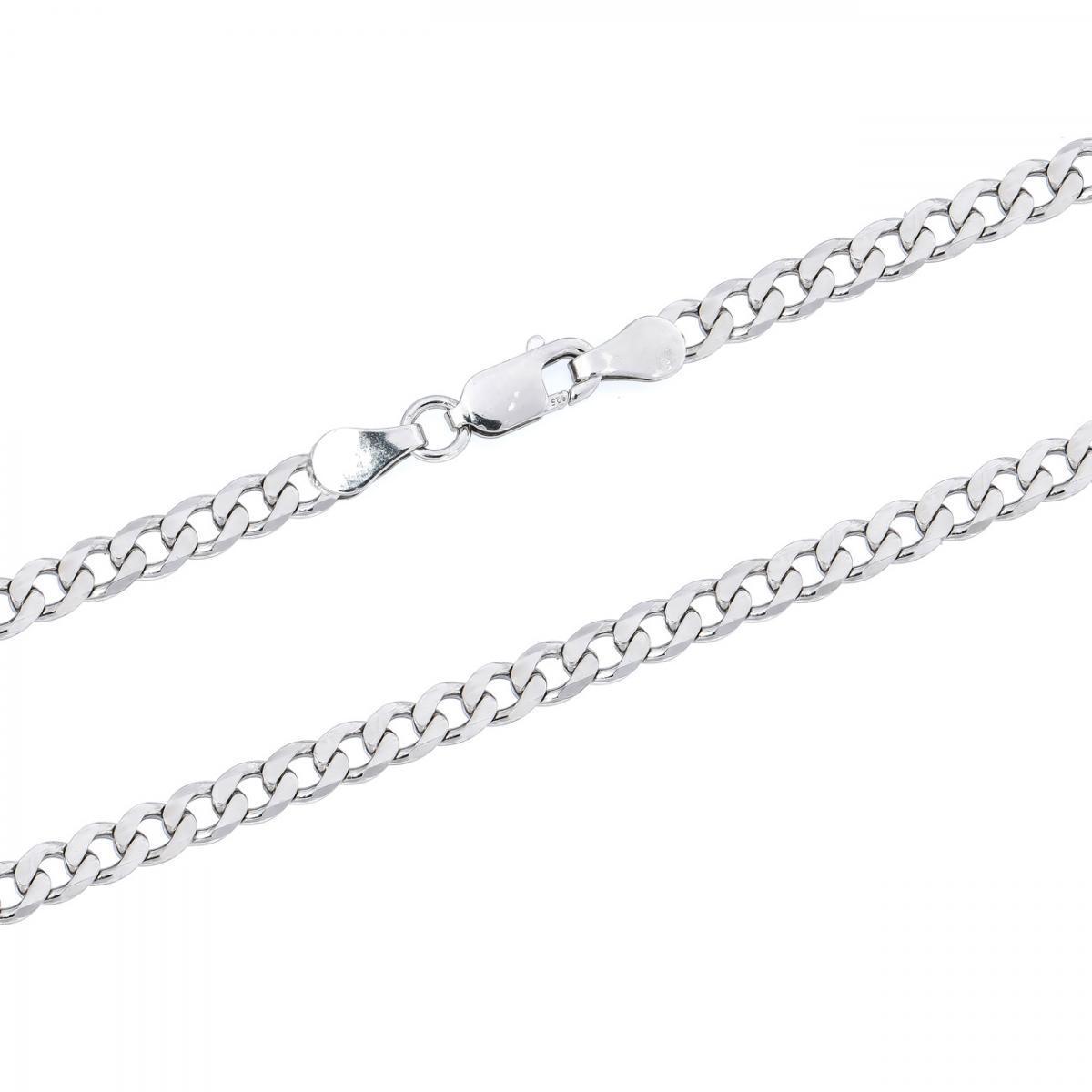 Ланцюжок срібний плетіння панцир GDE 100 rod