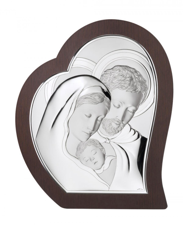 Ікона срібна Свята Родина 39х49см 81330.6L