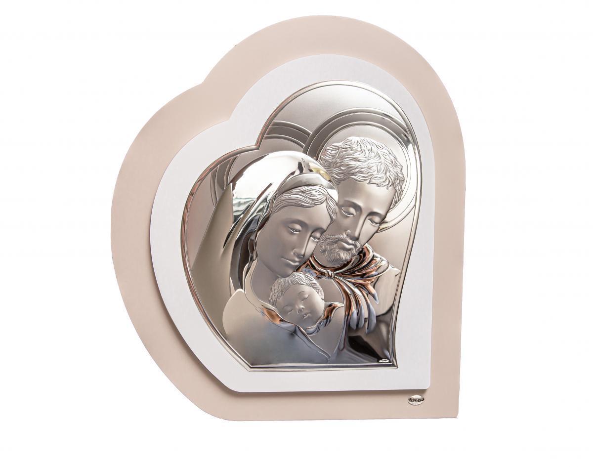 Ікона срібна ``Свята Родина`` (51х59см) 81343 3L