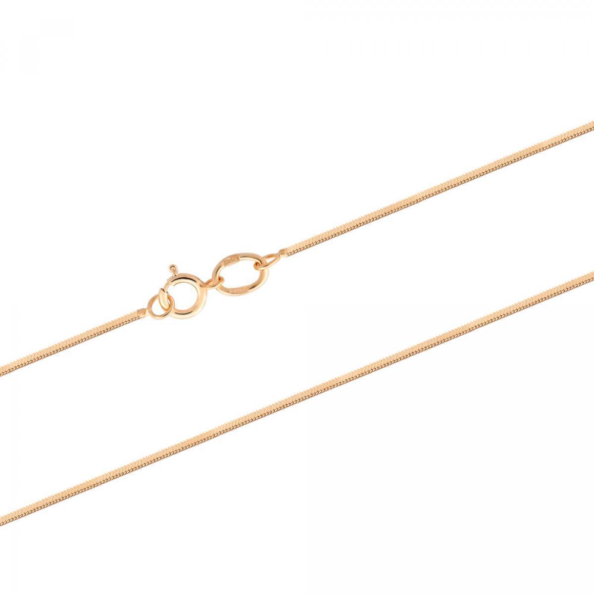 Ланцюжок з червоного золота плетіння снейк HSNK-30X (40)