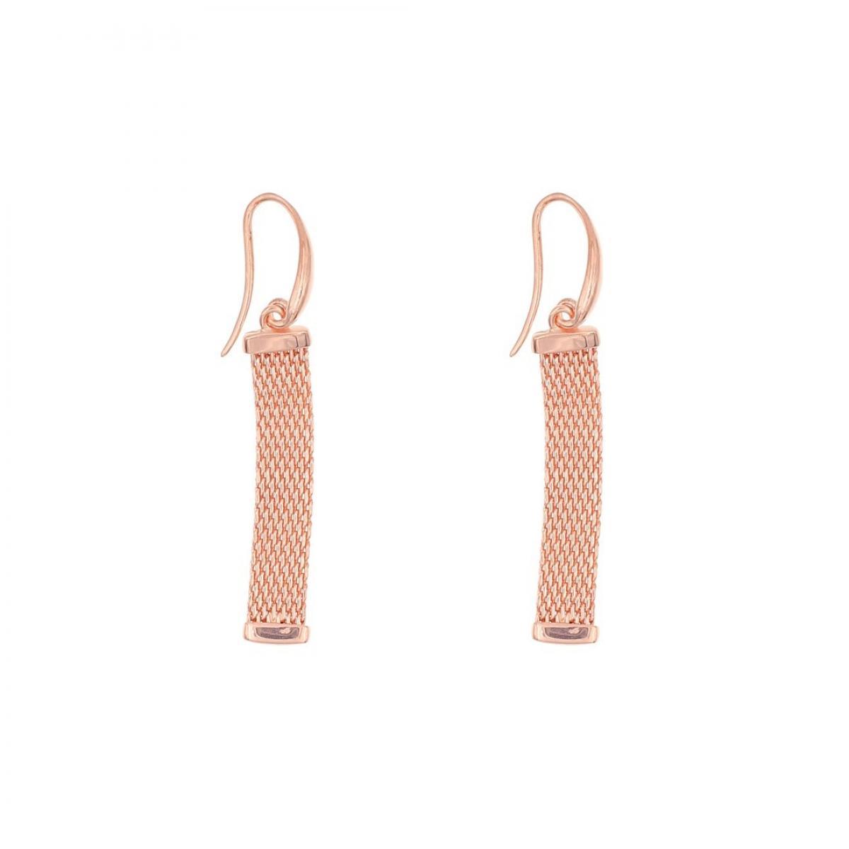 Сережки срібні ``Milano Gold`` з позолотою
