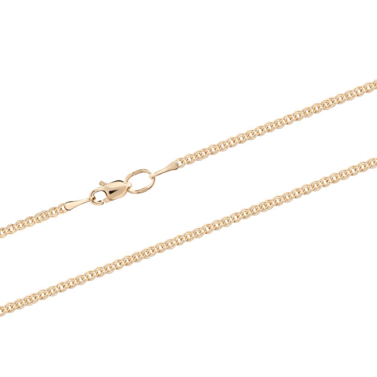 Золотий ланцюжок з плетінням Нонна (розмір 50)