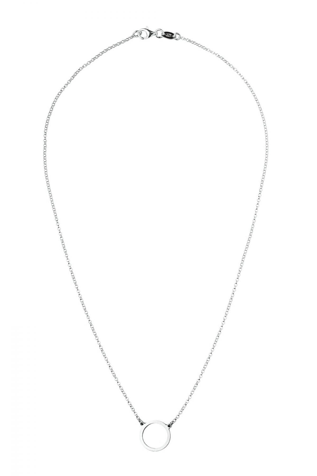 Кольє срібне з кільцем RMT CTI 022y