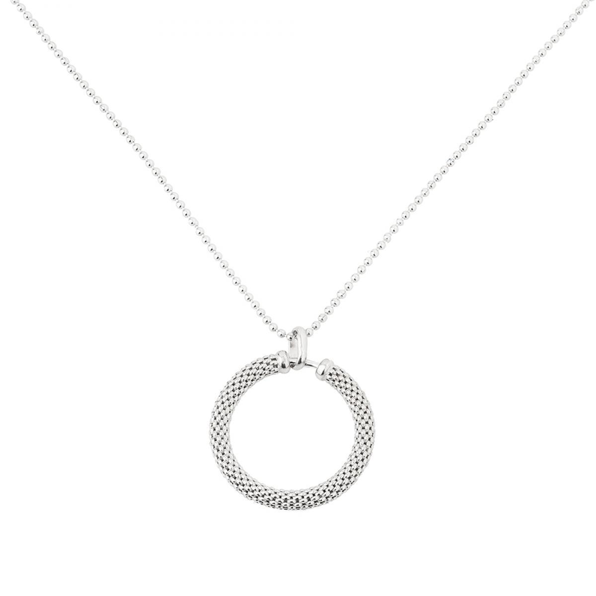 Кольє срібне ``Coreanna`` BEAD CEKR 120y