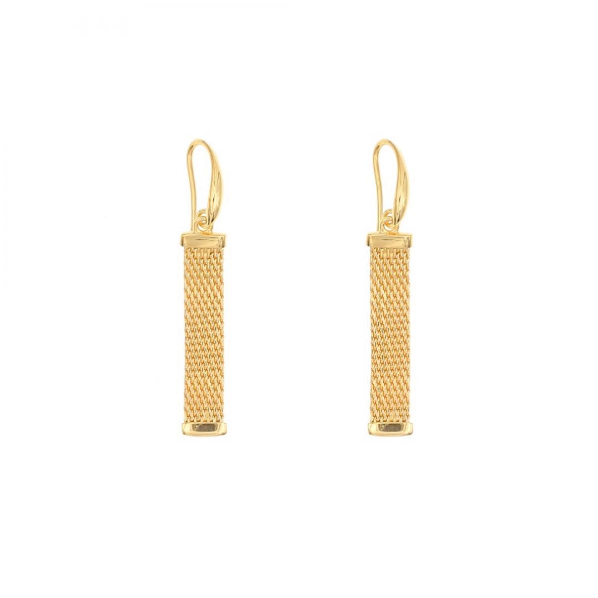 Сережки срібні з позолотою ``Milano Gold`` E19 0154-2556
